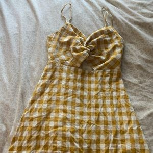 Dresses & Skirts - Emmer & Oat yellow gingham dress